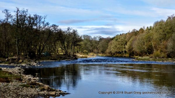 River Eden outside Wetheral