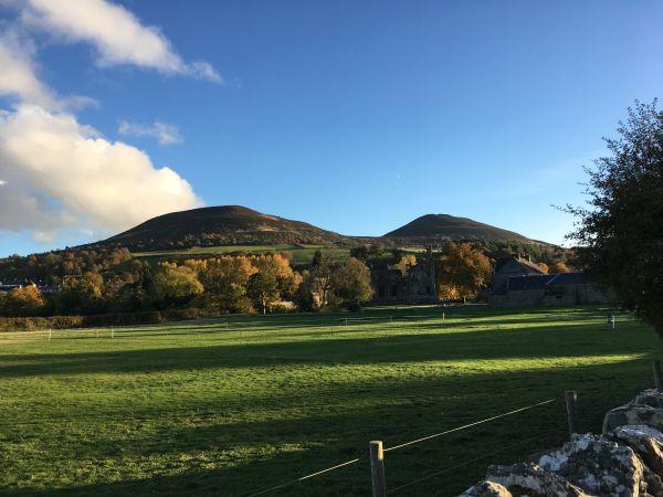 Southern Upland Way, Eildon Hills