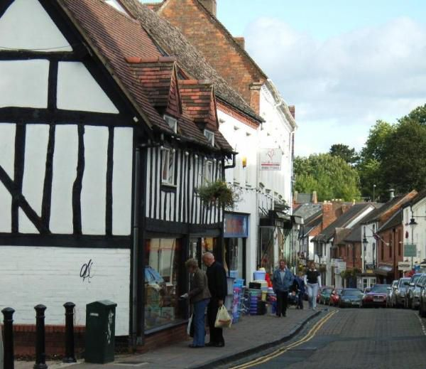 Droitwich Town Centre