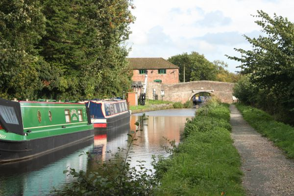 Montgomery Canal at Maesbury Marsh