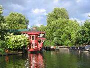 Regent's Park, Cumberland Basin, floating restaurant