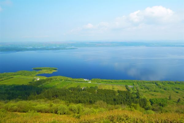 View from Cliffs of Magho © WalkNI