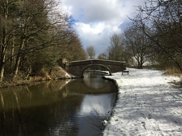 The Leeds Liverpool canal on the Southern