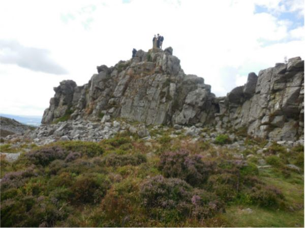 Stiperstones © Shropshire Way Association