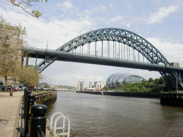 River Tyne Trail - South side alternative finish