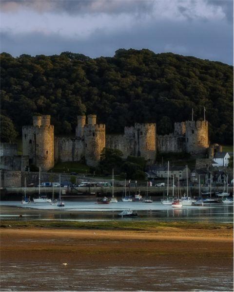 Conwy Castle  © John Bell