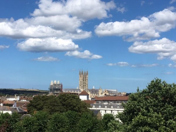 Canterbury Cathedral distant view