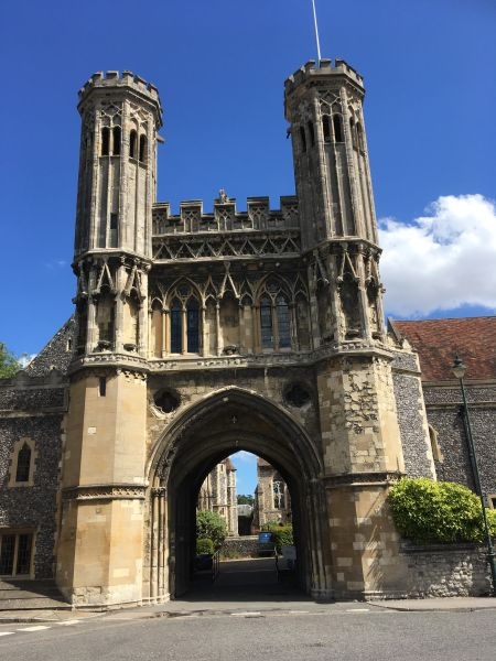 Great Gate, St Augustine's Abbey, Canterbury