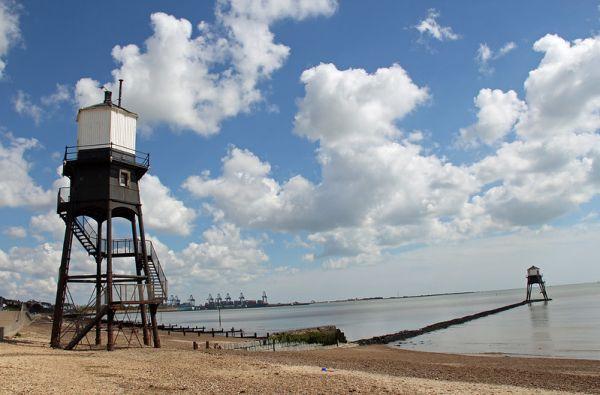 Dovercourt Lighthouses - Linda Peall