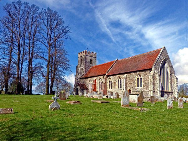 St Andrew's church, Bulmer - Bruce Hatton