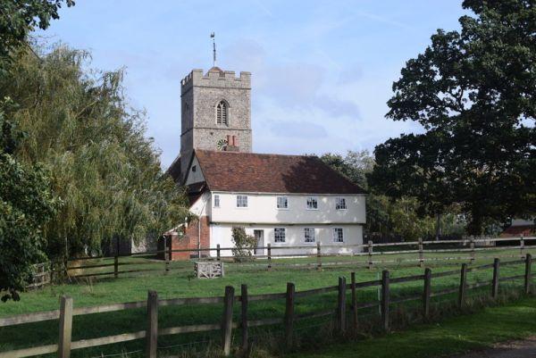 Marriage Feast Room & Church, Messing copyright Trevor Harris