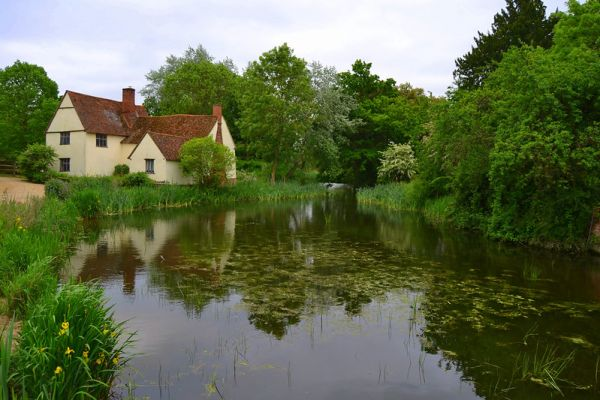 Willy Lott's House, Flatford - photo Brian Carr
