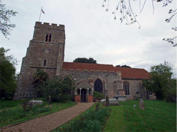 St Edmund King & Martyr, East Mersea copyright of David Robarts