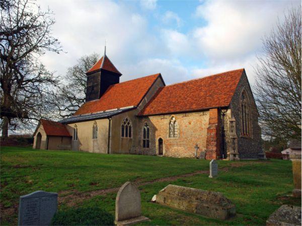 St Barnabas, Alphamstone copyright of David Robarts