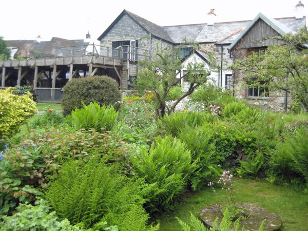 Finch Foundry (NT water-powered forge & garden in South Zeal)
