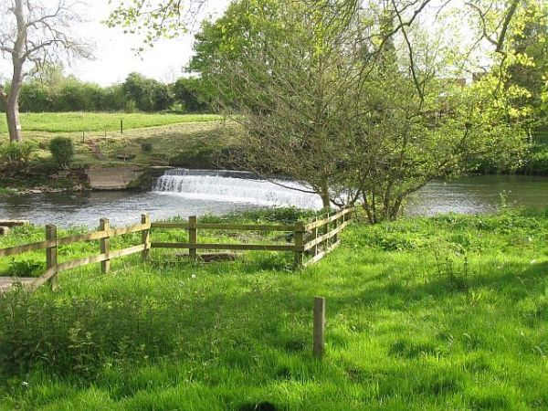 Ashford Weir Photograph Richard Webb, Geograph