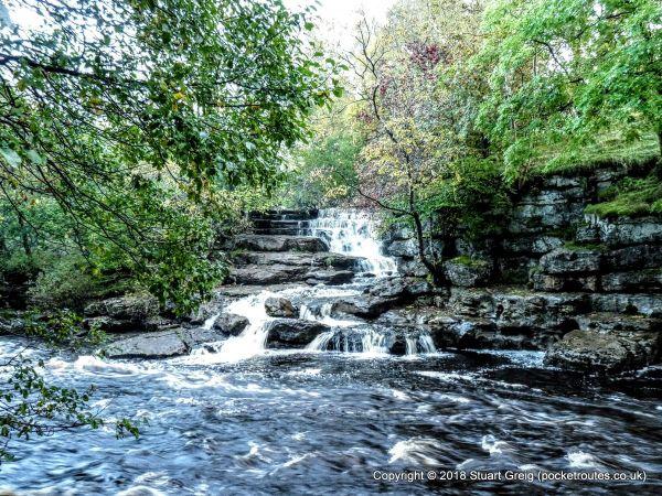 Waterfalls in River Swale at Keld