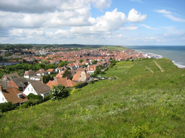Sheringham from Beeston Hill