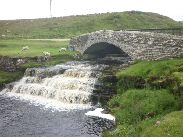 Bridge over River Ure, Ure Force Rigg