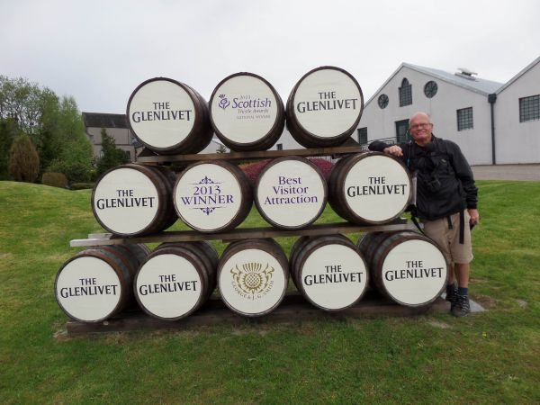 Glenlivet distillery on the Tomintoul Spur