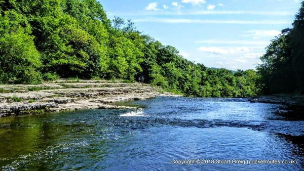 River Ure at Aysgarth Falls
