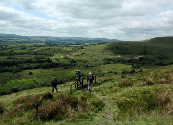 Holcombe Hill towards Affetside