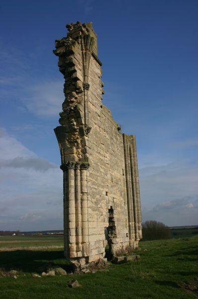 Barlings Abbey remains