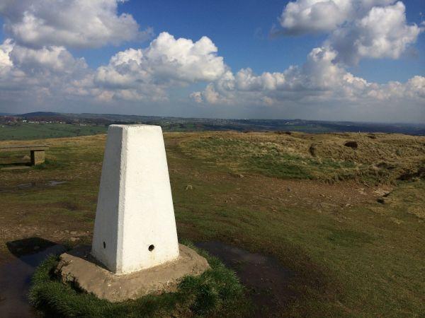Trig Point on Baildon Hill