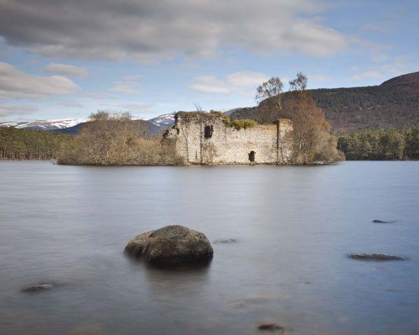 Loch Eilein Castle by David Langan