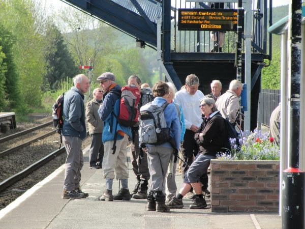 Walkers at Craven Arms