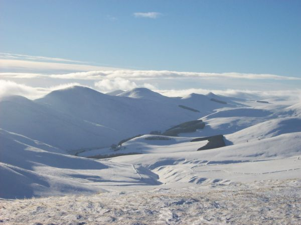 Pentland Ridge from Allermuir