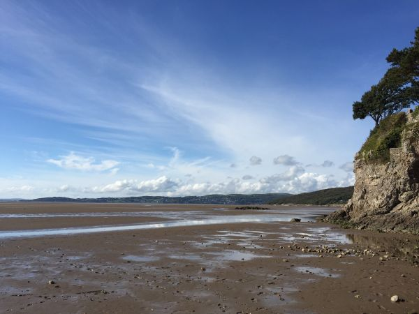 Morecambe Bay near Silverdale
