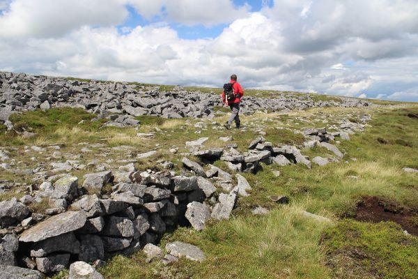 Maiden Way Roman road on Melmerby Fell