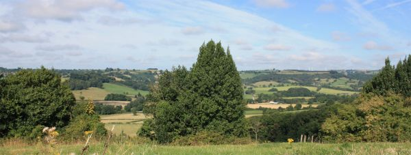 Ecclesbourne Way - Ecclesbourne Valley from Hilltop