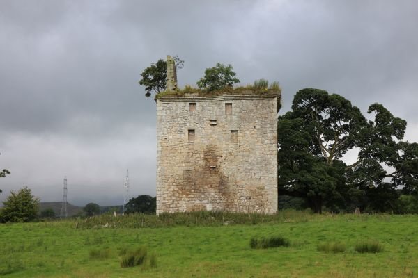 Barr Castle, between Lochwinnoch and Kilwinning