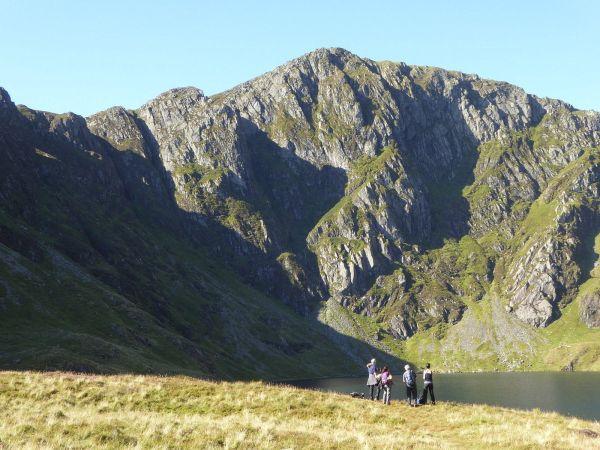 Cadair Idris across Llyn Cau