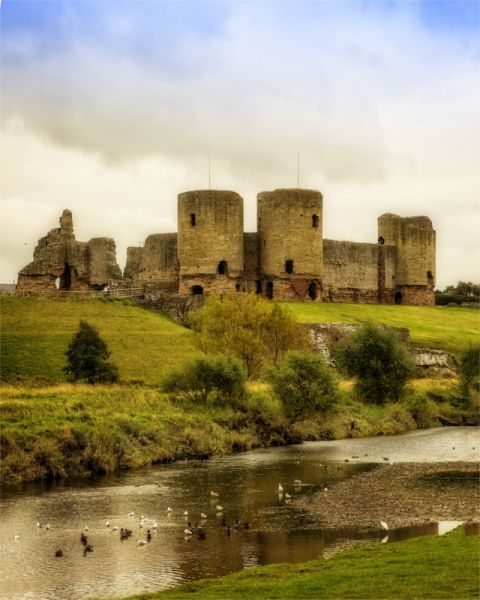 Rhuddlan Castle © John Bell