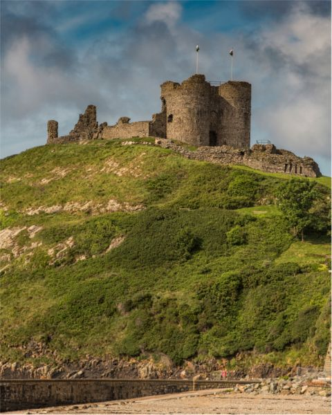 Criccieth Castle © John Bell