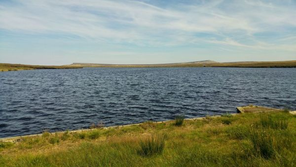 West Nab over Black Moss Reservoir
