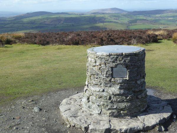 Toposcope at Pole Bank