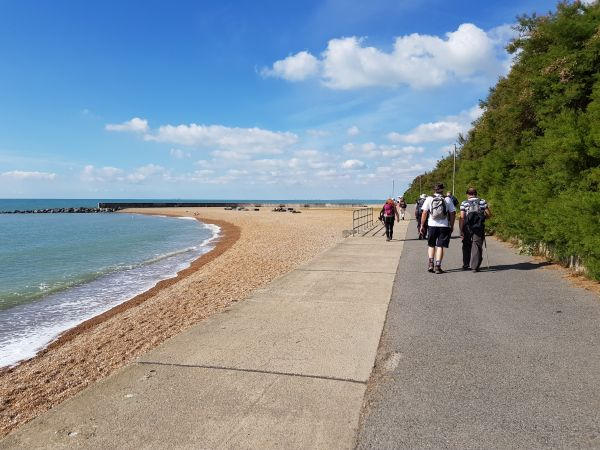 Coast path from Folkestone to Sandgate - ©Rob Baldwin