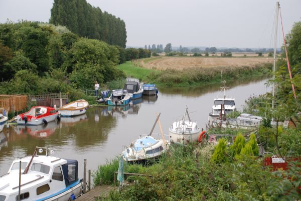 Great Stour at Plucks Gutter. - ©Rob Baldwin Royal Saxon Way