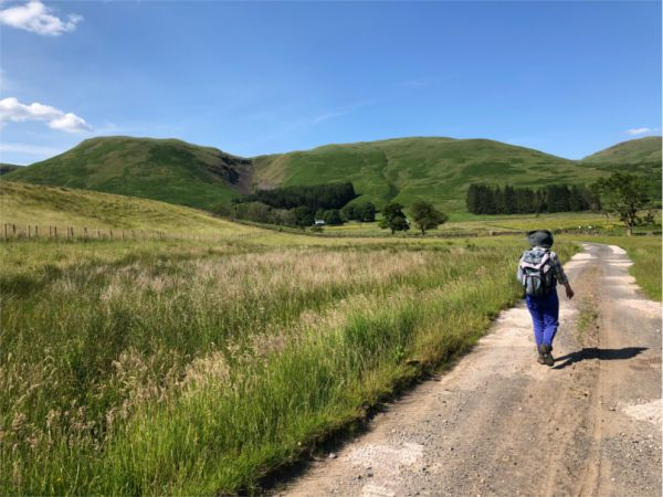 Heading towards Corehead - Alan Castle