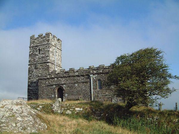 St Michael's Church, Brent Tor (Wikipedia)