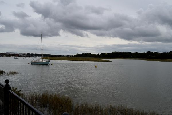 Confluence of River Colne and Roman River, Wivenhoe - John Myers