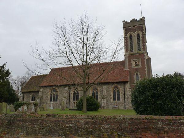 All Saints Church, Messing copyright Claire Parfrey