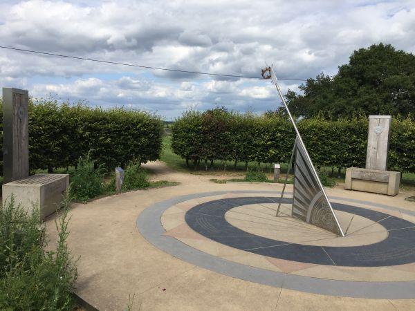 Sundial at Bosworth Battlefield Centre