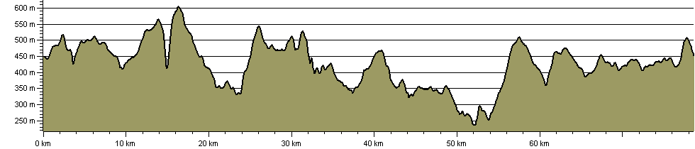 Dartmoor's Ancient Boundary Perambulation - Route Profile