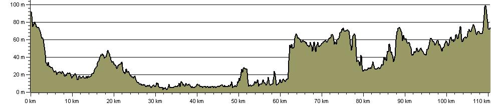 Lancashire Monastic Way Upholland to Sawley Abbey - Route Profile