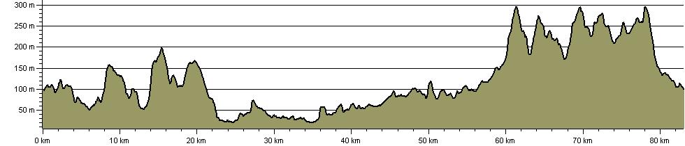 Black Pear 50 - Route Profile